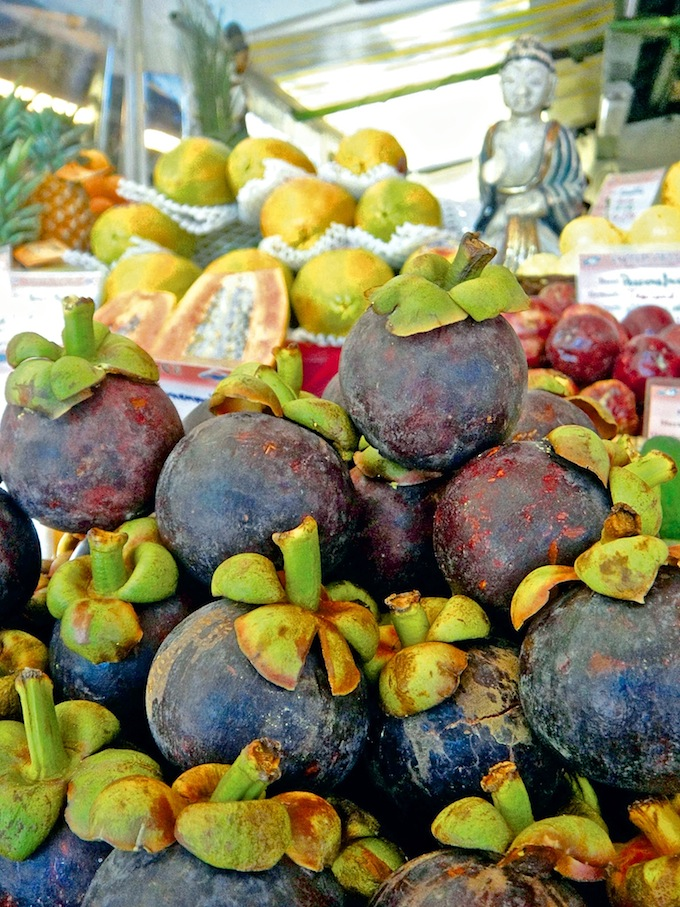 Exotische Fruechte, Mangosteen, foodhunter