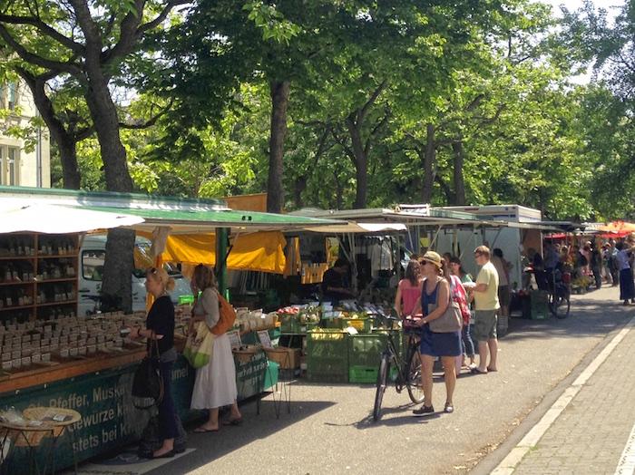 Karlsruhe Wochenmarkt