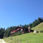 Jochberger Wildalm. Steile Wege und der Sintersbacher Wasserfall