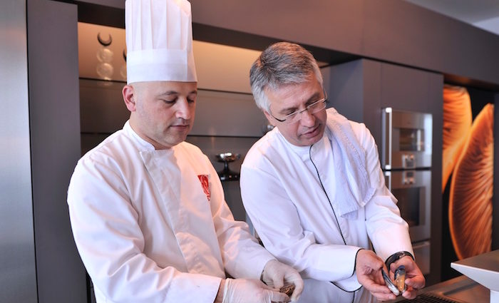Vedat Basaran: gefüllte Makrele nach osamischem Rezept
