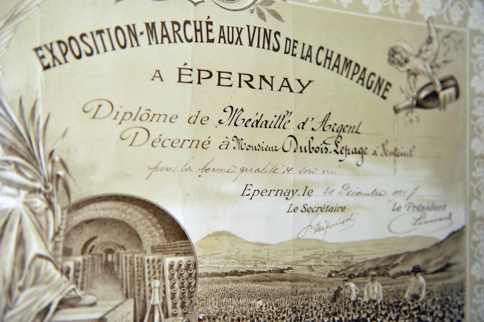 Champagne du Redempteur Claudy Dubois
