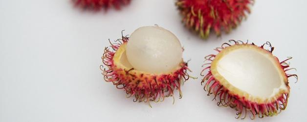 Rambutan. Foto Foodhunter