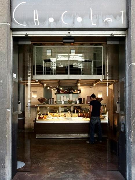 Foto Angelika Frank, Mailand, Chocolat-Eisdiele