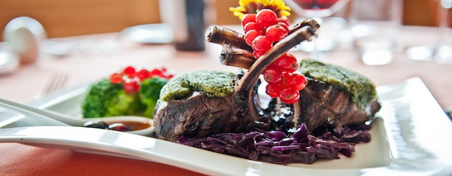 Milio Restaurant in Livigno. Montagne und Mare