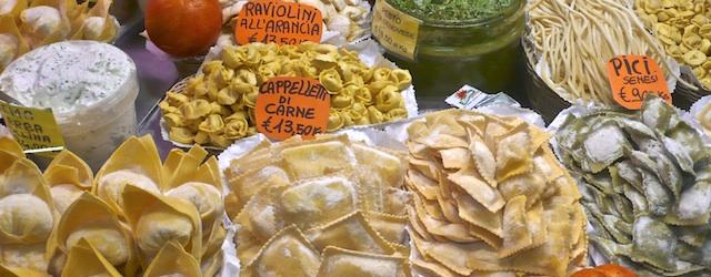 Markt Florenz, Foto Angelika Frank