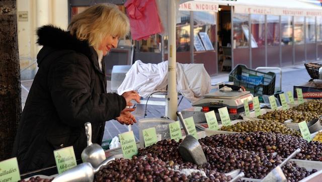 Nizza Blumenmarkt, Foto Foodhunter