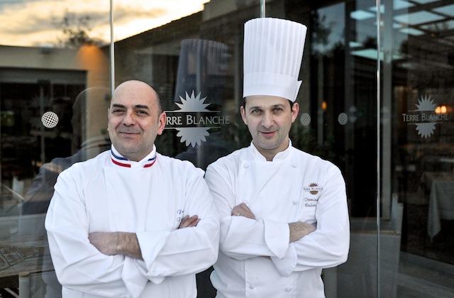 Terre Blanche, Franck ferigutti, Foto Foodhunter