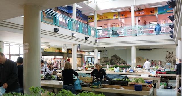 Markt Labin,  Foto Foodhunter