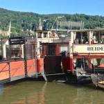 Ein Schiff, ein Schloss, drei Sterne. Heidelberg von seiner schönsten Seite