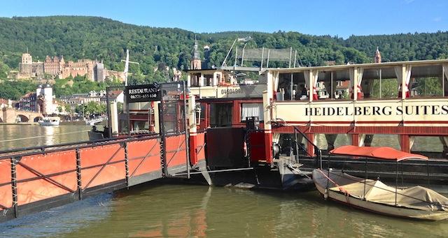 Ein Schiff, ein Schloss, drei Sterne. Heidelberg Suites