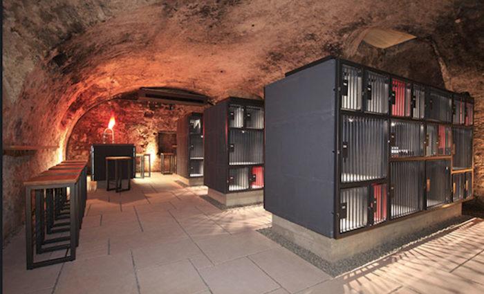 Luxus-Tresor für Weine – wineBANK