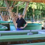 Steffen Teufel züchtet Edelkrebse in Basthorst