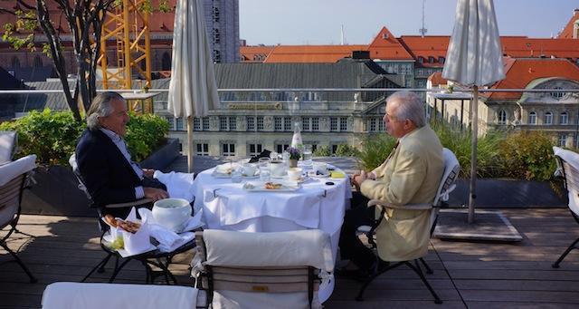 Dieter Meier und Michael Graeter, Foto Foodhunter