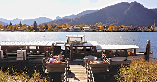 Seepavillon am Tegernsee. Das Sternchen der Villa am See