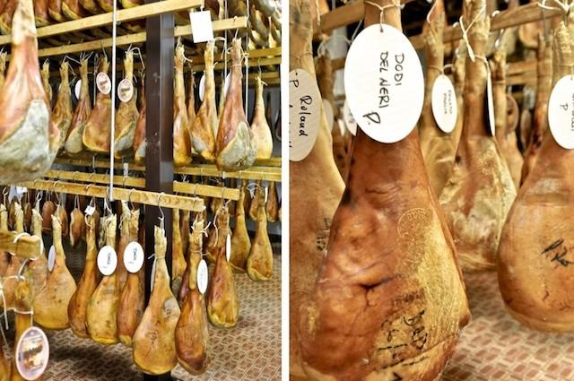 Prosciutto di Cormòns vom Duroc. Spezialität aus dem Friaul