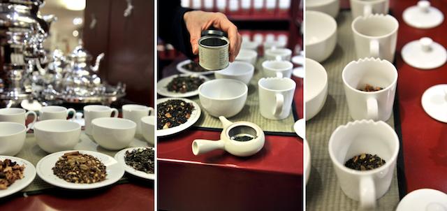 """Teesomelière Kathi Dinkel und eine """"Grün-Tea-Time"""" bei Schuhbeck"""