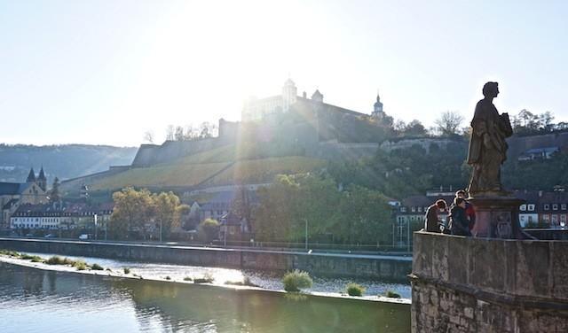 Brückenschoppen, Sterne und Brotzeit im Bäck: Würzburg