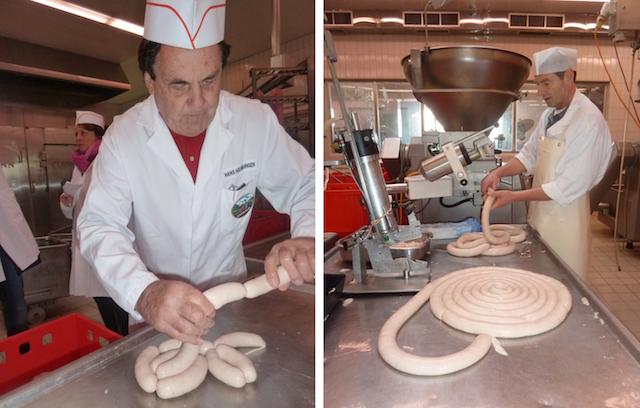 An ihren Weißwürsten zuzeln die Promis: Metzgerei Holnburger
