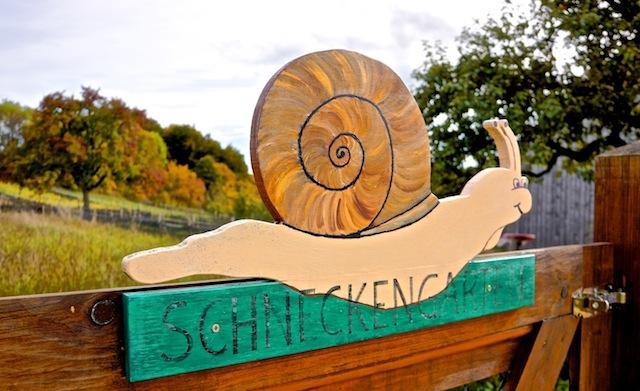 Delikatesse Albschnecke. Rita Goller und ihr Schneckengarten