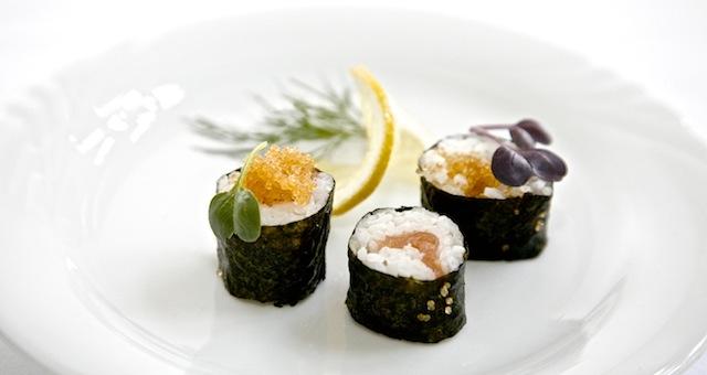 Sushi mit Maränenkaviar, Foodhunter