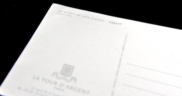 Blutente, Nummer Tour d'Argent, Foto Foodhunter