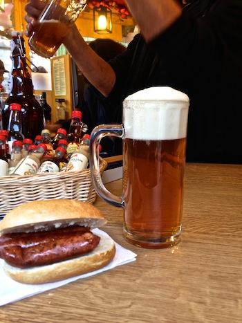Lebkuchenbier, Lebkuchenmarkt Nürnberg, Foto Foodhunter