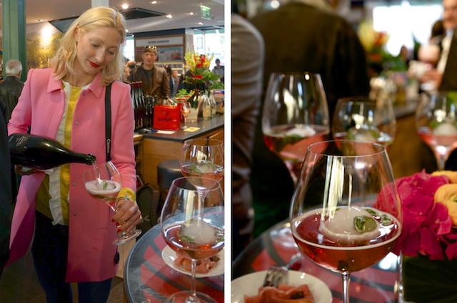 Cerdon-Sommerdrink der Tantris Weinbar