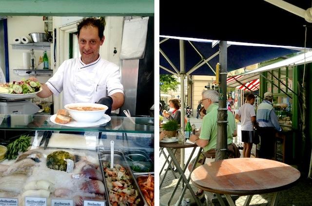 Münchner lieben Fisch zum Lunch: Fisch-Häusl am Wiener Platz