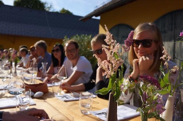 Sommerfrische in Salzburg. Barbara, Bernadette und der Bluntauer Saibling