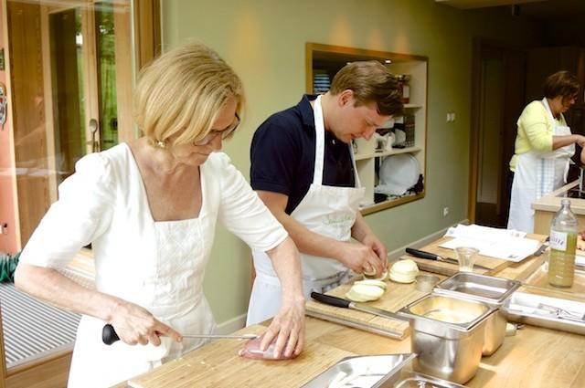 Starköchin ohne Starallüren: Kochkurs bei Johanna Maier