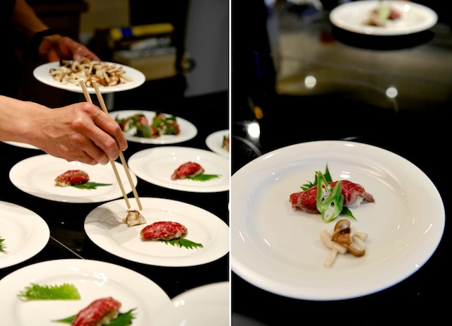Wagyu Sushi, Foto Foodhunter, Sabine Ruhland