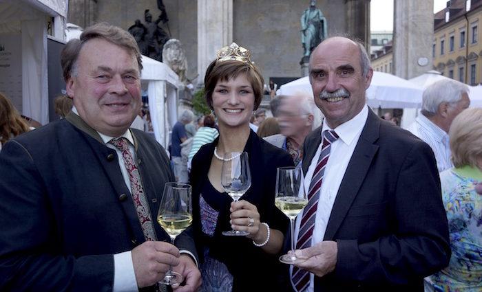 Große Gewächse auf dem Odeonsplatz: Bayerisches Genussfestival
