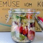 Immer donnerstags: Gemüse vom Kochtisch, Wochenmarkt Lehel