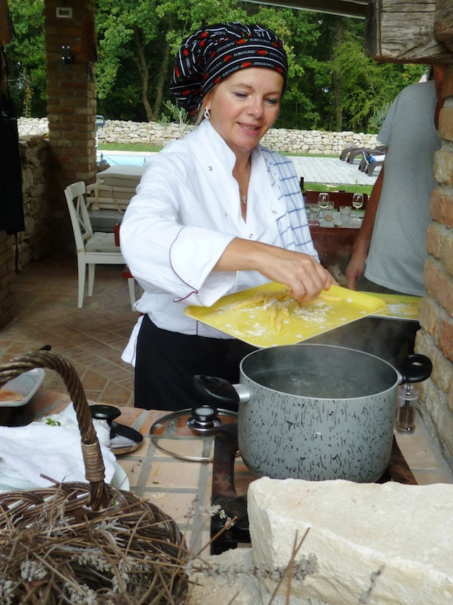 Pljukanci, Spezialität Istrien, Foto foodhunter