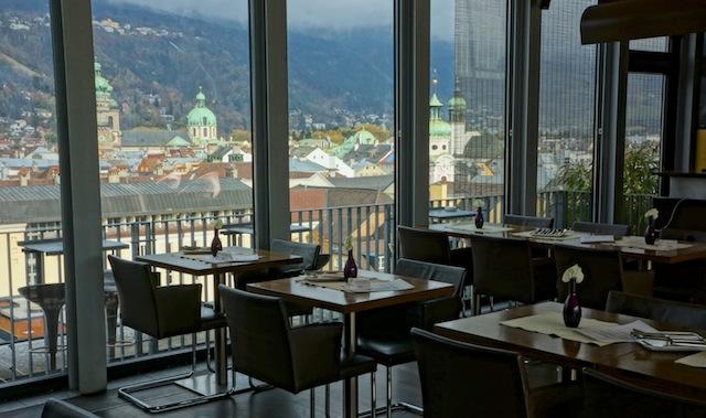 Lichtblick, Innsbruck, Foto Sabine Ruhland, www.foodhunter.de