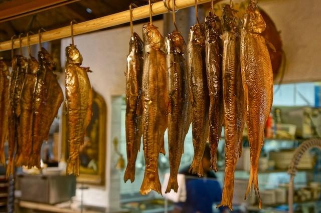 Fisch Peer in der Markthalle Innsbruck