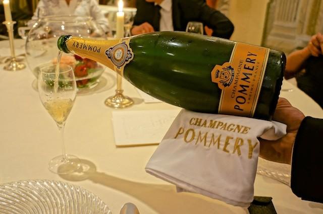 Pompadour-Louise-Pommery-Gala bei Heinz
