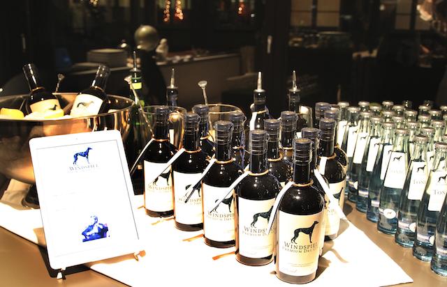 Windspiel Gin auf der foodhunter Weihnachtsparty