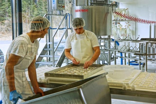 Capriz Käse, Foto Sabine Ruhland, www.foodhunter.de