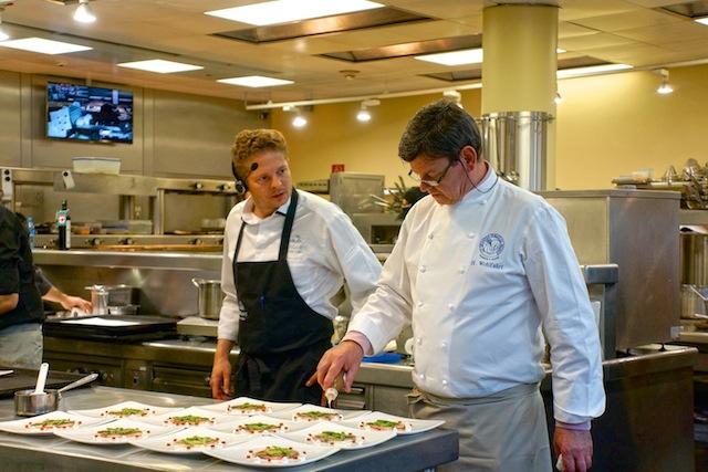 Harald Wohlfahrt, Ikarus Küche, Foto Sabine Ruhland, foodhunter.de