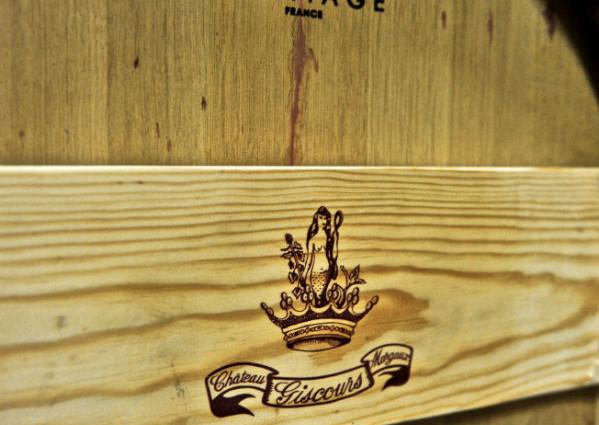 Weinkeller Holzfass - Chateau Giscours