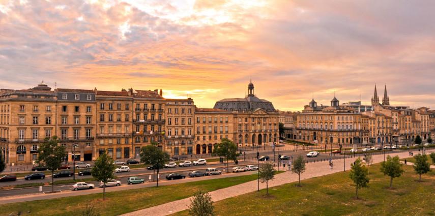 Bordeaux Abendstimmung