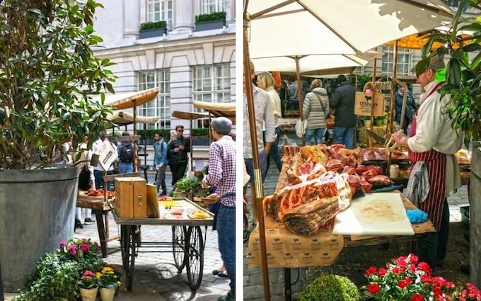 Slowfood Market im Rosewood London