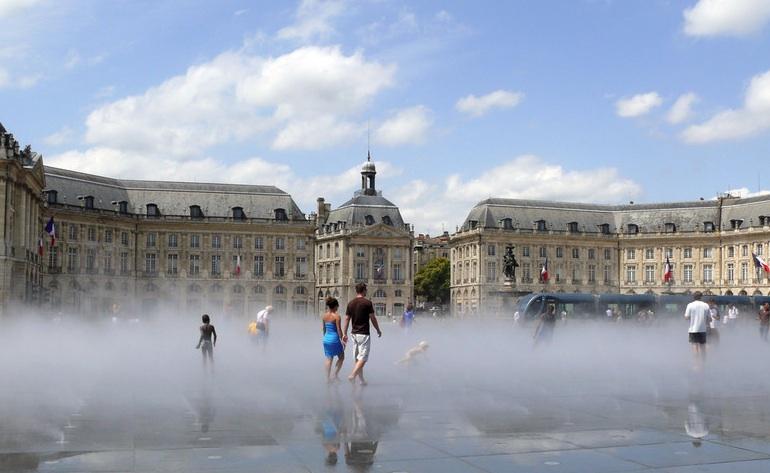 Miroir d'eau_ Tourismus Bordeau