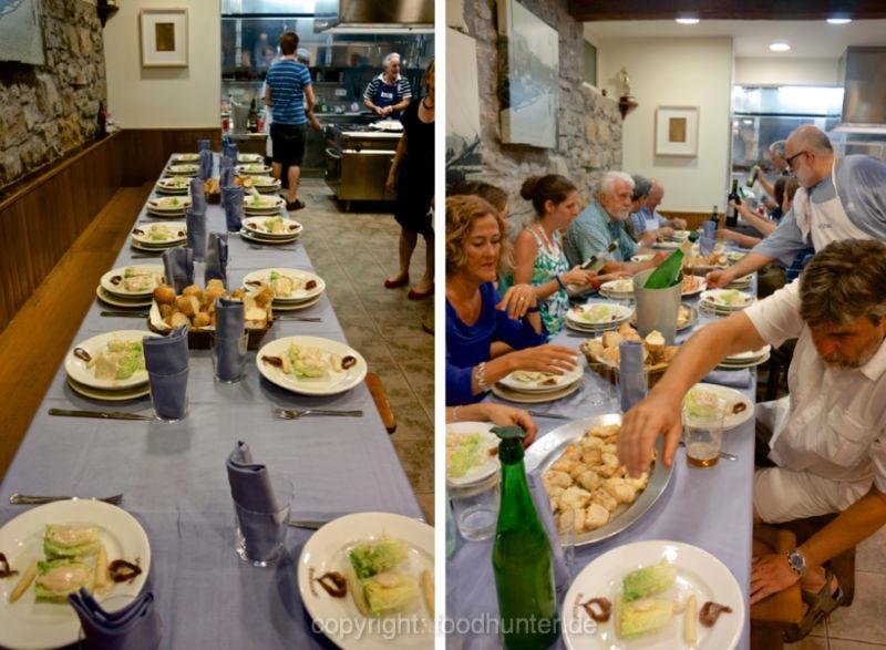 San Sebastian, Maennerkochclub, Foodhunter;