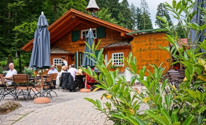 Sattelei - die Hütte vom Bareiss