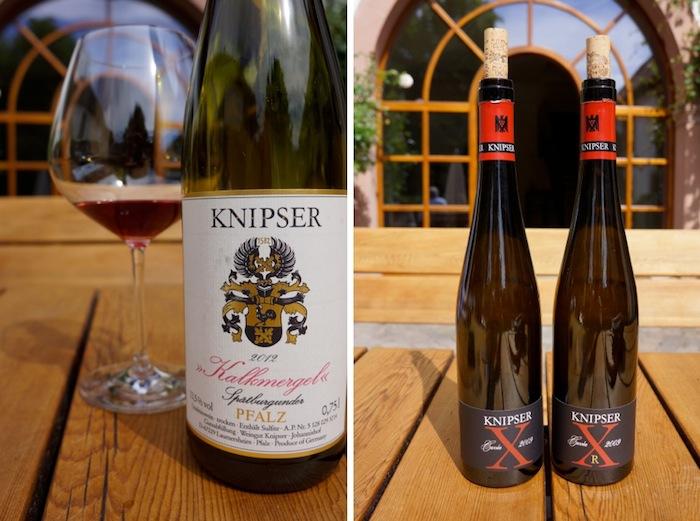 Weingut Knipser, Kalkmergel, Cuvee X und XR