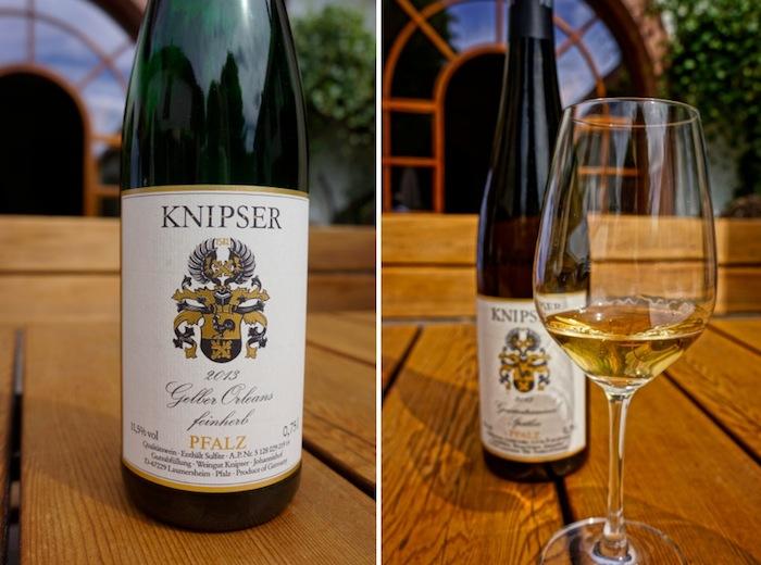 Weingut Knipser, Gelber Orleans, Gewuerztraminer