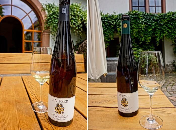 Weingut Knipser Pfalz, Steinbuckel, Mandelpfad
