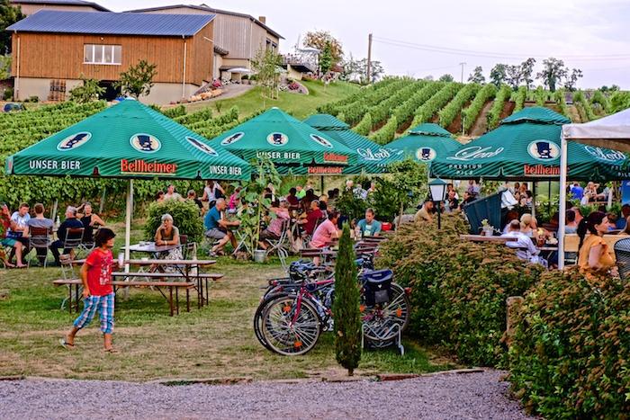 Weinpavillon zum Keschdebusch Birkweiler, foodhunter
